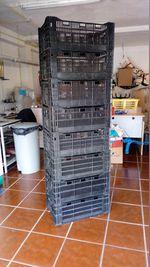 Caixas de arrumação em plástico. foto 1