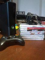Xbox 360 Comando Kinet  40 jogos instalados foto 1