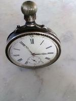 Relógio de bolso em prata foto 1