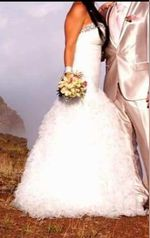 Vestido de Noiva Impecável. 550€ foto 1
