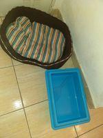 Cama e caixa de areia foto 1