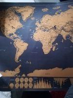 Mapa mundo foto 1
