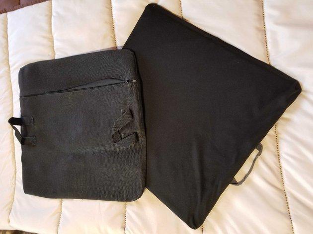 Almofada de silicone para cadeira de rodas foto 1