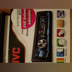 Vendo Auto rádio JVC como novo. foto 1