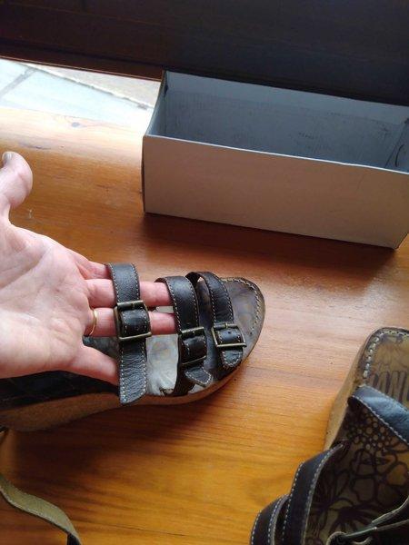 Sandália 36 castanho foto 1