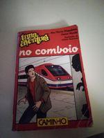 Livro uma aventura no comboio foto 1