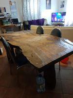 Mesa de cosinha rustica foto 1