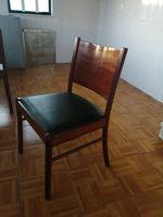 Vendo conjunto de 12 cadeiras com estofo foto 1