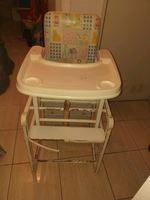 Cadeira de refeição conversível foto 1