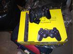 PlayStation 2 com comando a funcionar foto 1