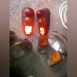 Material farolins renault 4L foto 1
