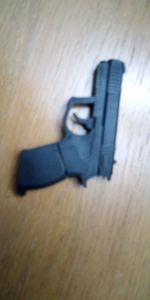 Vende-se, peny em forma de pistola, com 8G de memó foto 1
