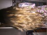 Vendo extensões de cabelo. 80 unidades de 60cm (pronta grossa) O cabelo é de origem natural e pode ser pintado. Estão em perfeito estado e só foram usadas reatulizadas uma vez. São totalmente lisas mas podem ser trabalhadas com secador e prancha assim como mostra a fotografia. foto 1