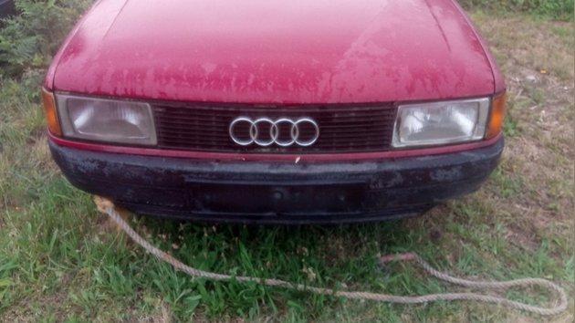 Material Audi 80 TD 1989 foto 1