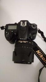 Máquina fotográfica Nikon 7200 +objectiva objectiva foto 1