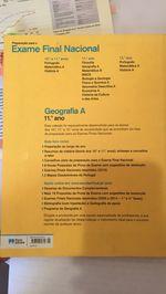 VENDO livro exame 11 ano de geografia NOVO foto 1