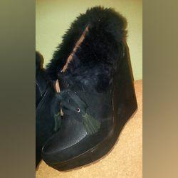 Sapatos d senhora, de Cunha e estão como novos foto 1