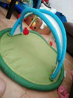Tapete de atividades e ovo de bebé foto 1
