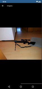 Sniper airsoft com muita força como nova .. foto 1