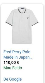 Polo Fred Perry foto 1