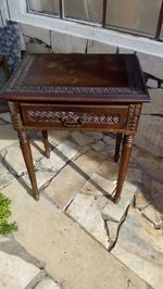 2 mesas cabeçeira antigas foto 1
