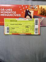 Vendo bilhete para concerto de Bob Dylan 1 de Maio de 2019 no Coliseu do Porto foto 1