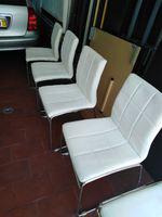 Cadeiras usadas branca foto 1