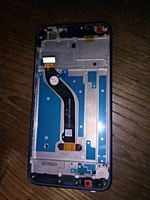 Tela LCD Huawei honor 8 lite cor azul foto 1