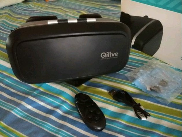 Óculos virtual como novos com garantia foto 1