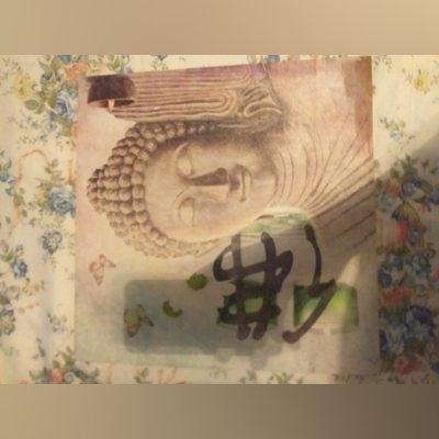 Quadro com desenho de uma deusa foto 2