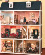 Casa de bonecas vitoriana foto 1