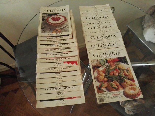 Revistas e fascículos de coleção tele culinária foto 1
