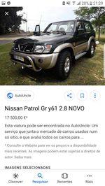 Patrol gr y61 2.8 td6 99 km reais foto 1