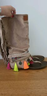 Sandália bota foto 1