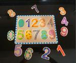Puzzle Madeira Números - Como NOVO foto 1