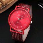Relógio da nova colecção Fashion vermelho foto 1