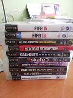 PS3 500Gb com jogos foto 1