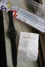 Relógio swatch edição limitada 25 anos foto 1