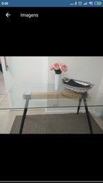 Mesa vidro nova 80*140cm foto 1