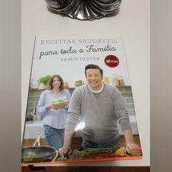 "Livro Jamie Oliver "" Receitas saudáveis..."" foto 1"