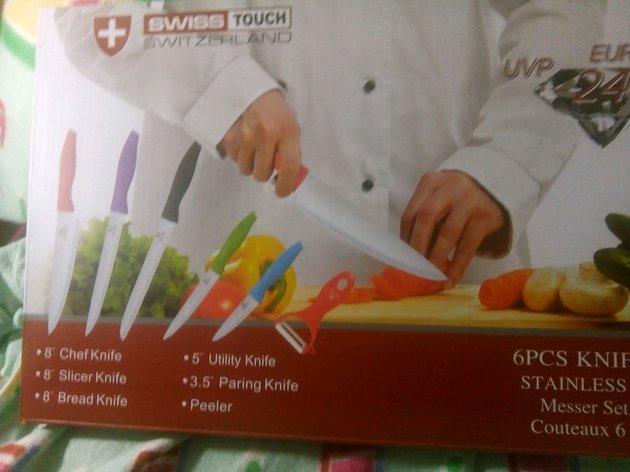 Conjunto 7 facasSuíças,extrema qualidade foto 1