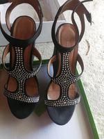 Sandálias pretas 39 Calçado Guimarães foto 1