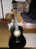 -Guitarra media-preta - Saco de transporte- preto foto 1