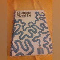 Vendo o livro de educação visual 5°/6° anos com CA foto 1