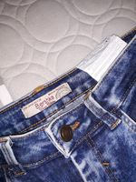Calças cintura subida Bershka foto 1
