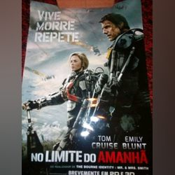 "Poster ""No Limite do Amanhã"" foto 1"