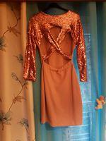 Vestido lantejoulas foto 1