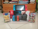 Nintendo Switch  Pokemon Let's go /Splatoon 2 foto 1