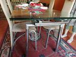 Vendo mesa vidro, extensível. foto 1
