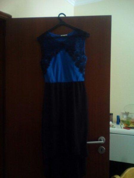 vestido de cerimonia usado uma vez tamanho unico foto 1